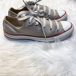 Converse All Star Gray Low Top Sneakers 6